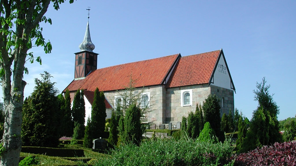 Fiskbæk church