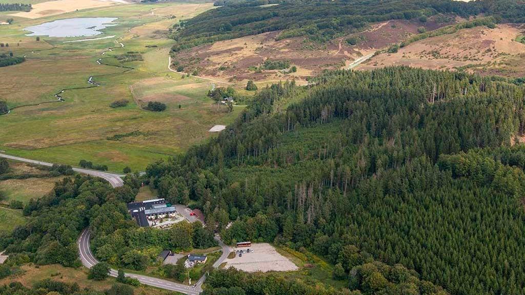 Rold Storkro Luftfoto