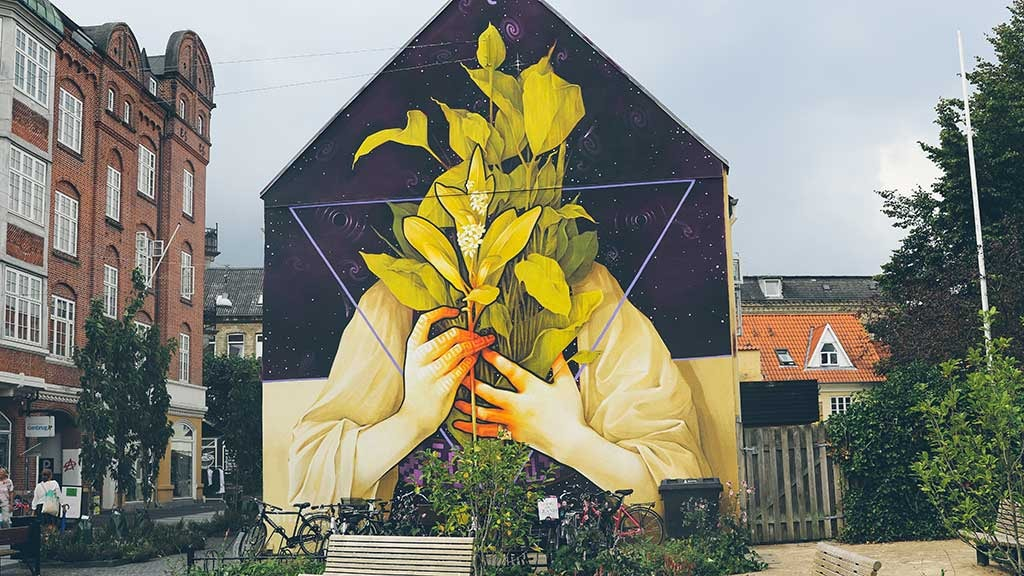 Street art i Aalborg