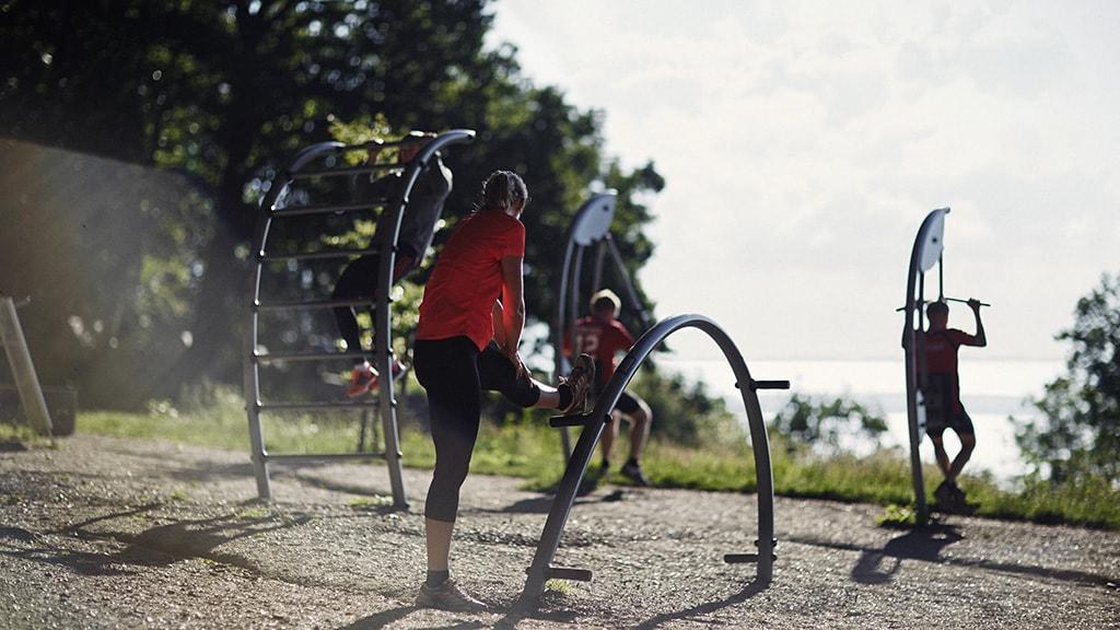 Fitness udendørs