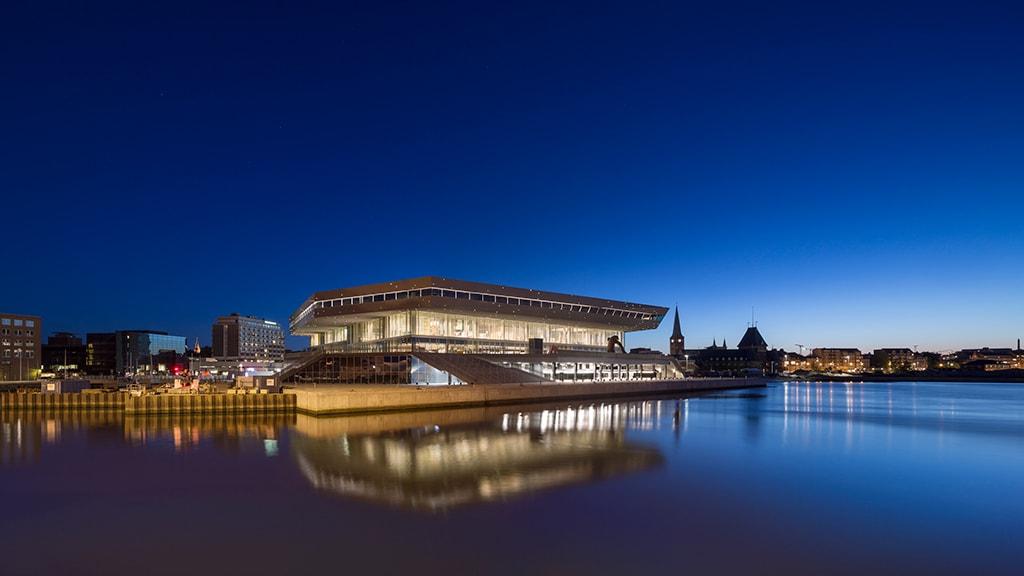 Dokk1 i Aarhus med hovedbibliotek og borgerservice