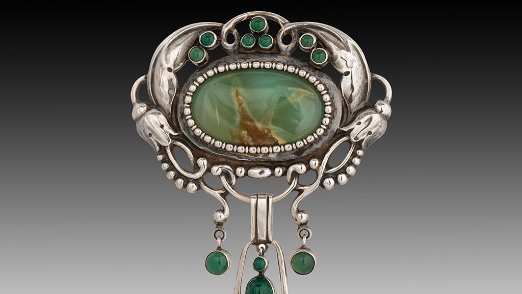 Smykkeskrinet-Kay-Bojesen-broche-1920