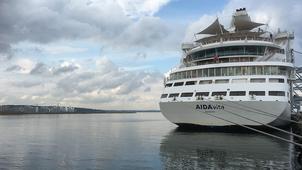 AIDAvita cruise Aarhus