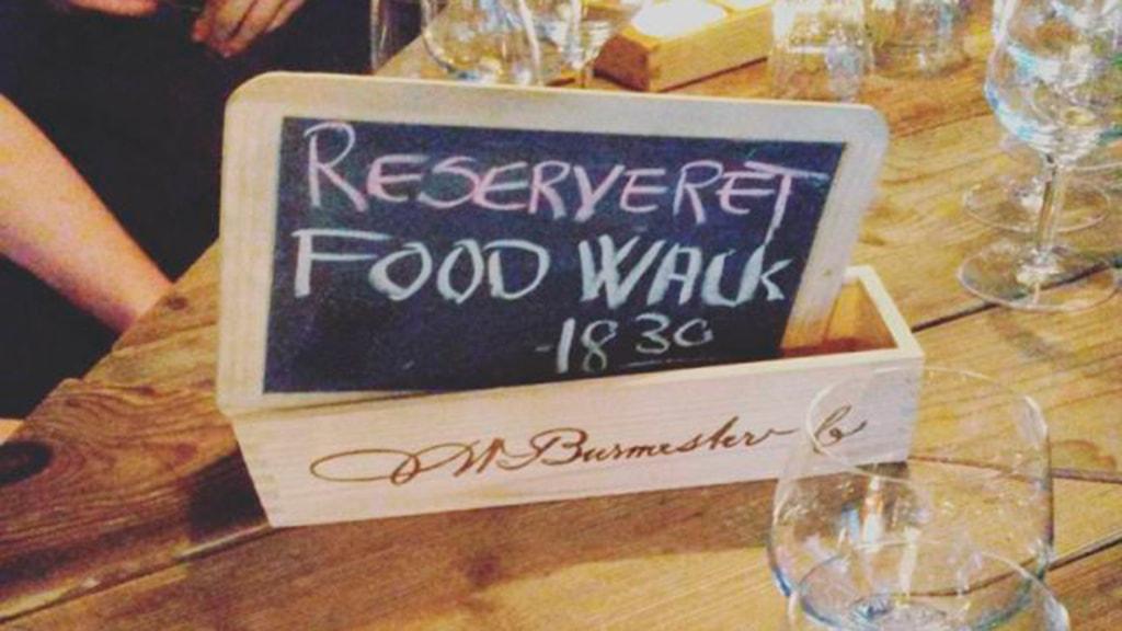 Reserveret til Food Walk Aarhus