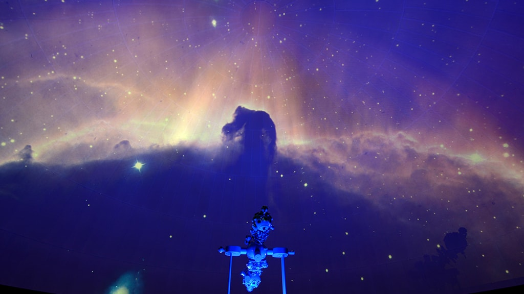 Fuldemåneaften i Planetariet i Steno Museet
