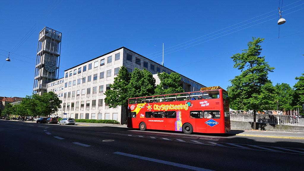 City sightseeing Aarhus bus