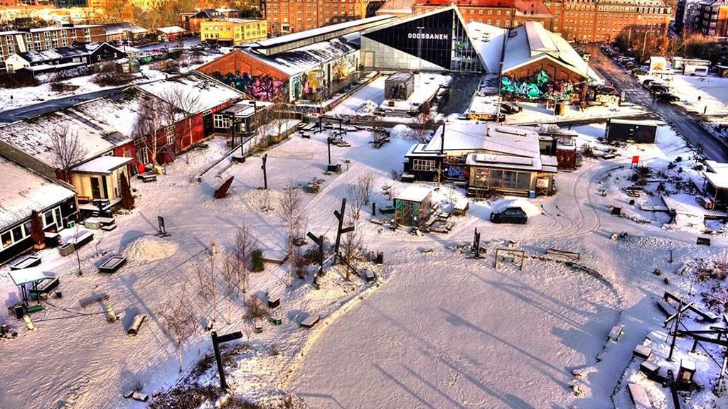 Julemarked på Godsbanen i Aarhus