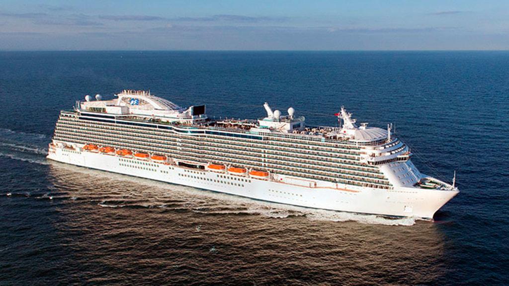 Regal Princess cruise in Aarhus