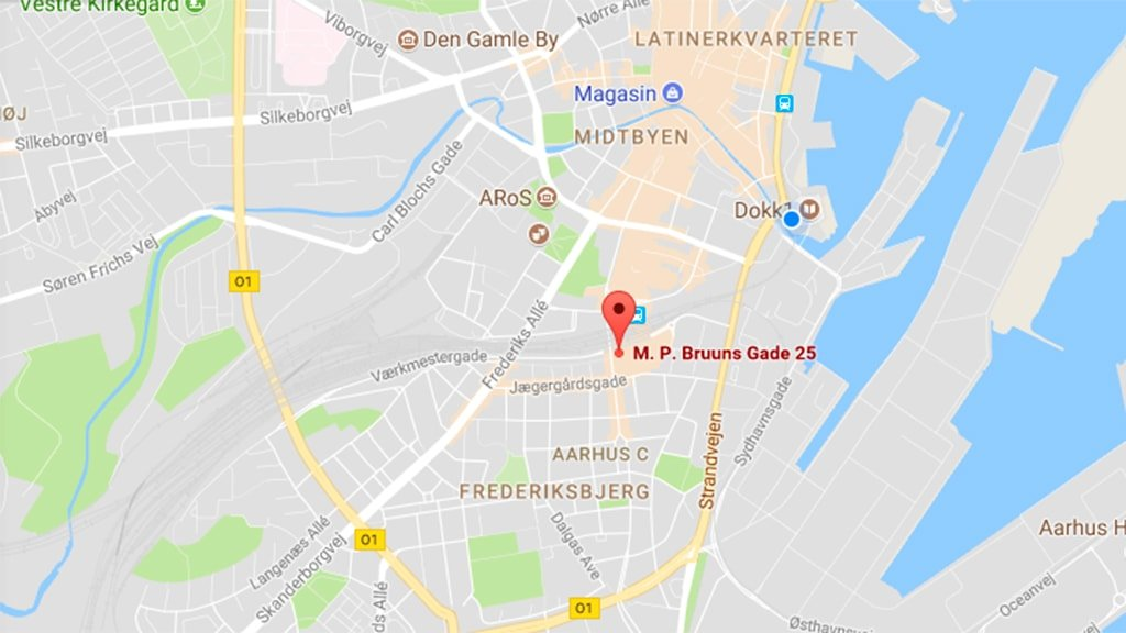 Bruuns Galleris parkeringshus Aarhus