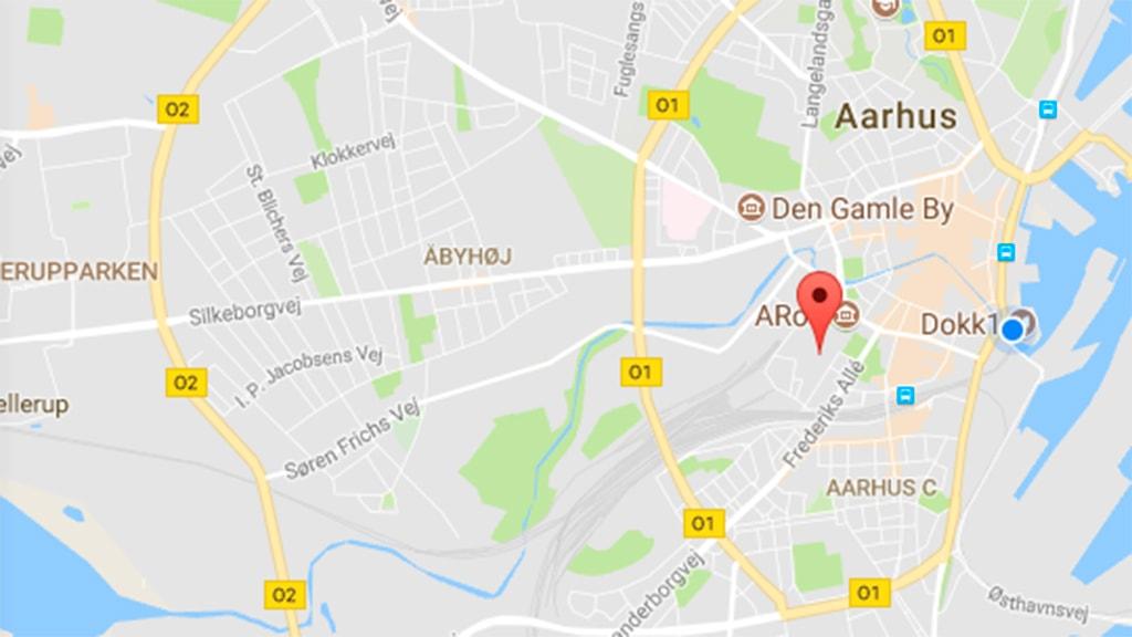 Scandinavian Center Aarhus Parkeringshus