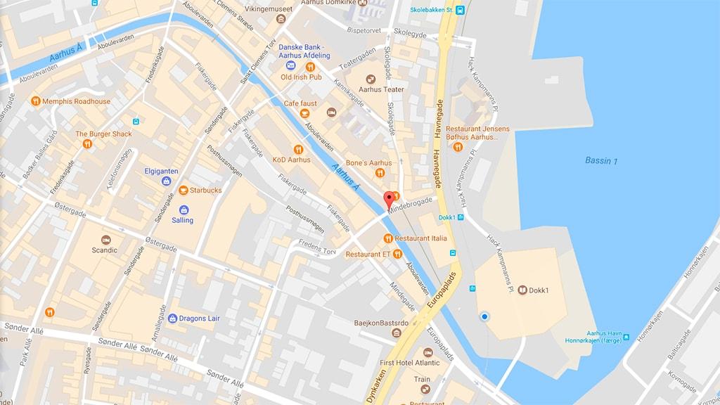 Parkering på Mindebrogade/Åboulevarden Aarhus