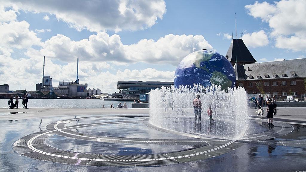 Aarhus nye havnefront med Endless Connection