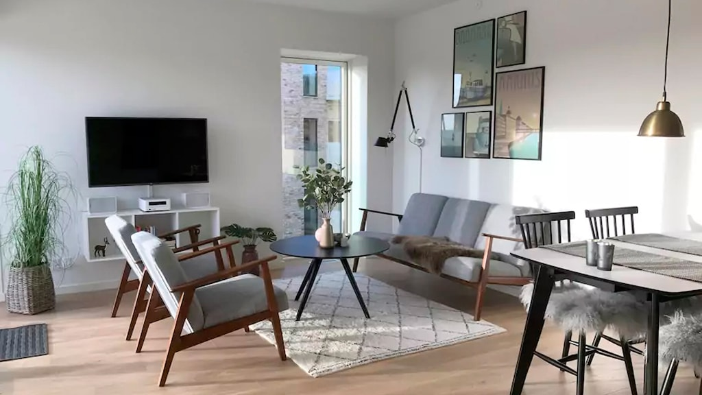 Unik lejlighed i Aarhus C