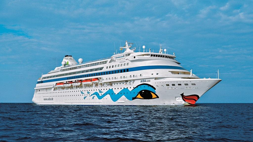Krydstogtskibet AIDAcara