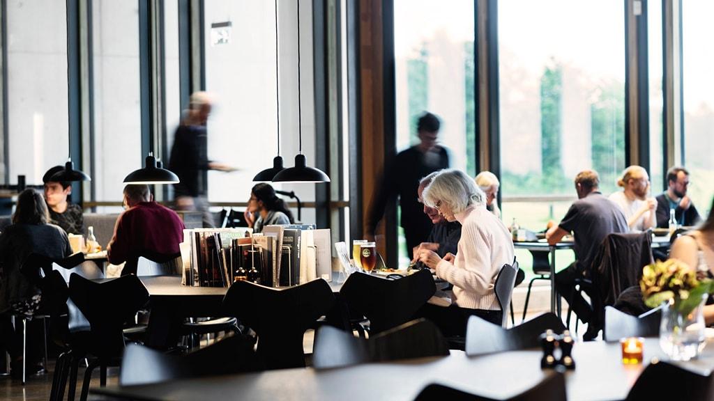 Café im Prähistorichen Museum Moesgaard