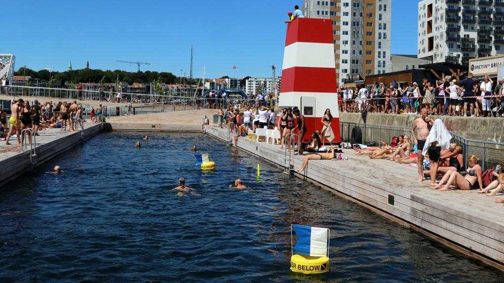 Åbning af Havnebadet i Aarhus 30. juni 2018 Foto Per Ryolf