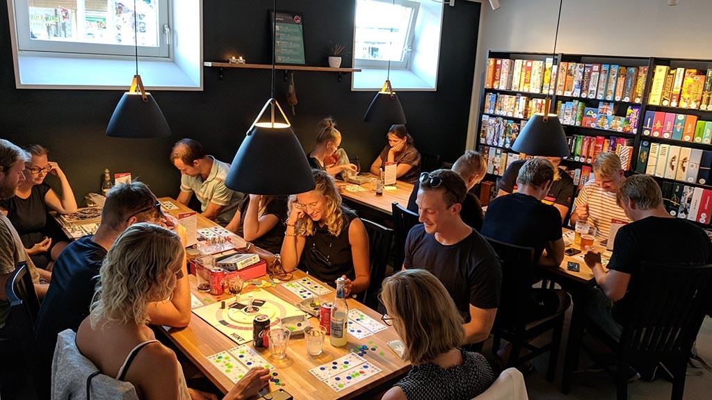 Aarhus Brætspilscafé i Fredensgade