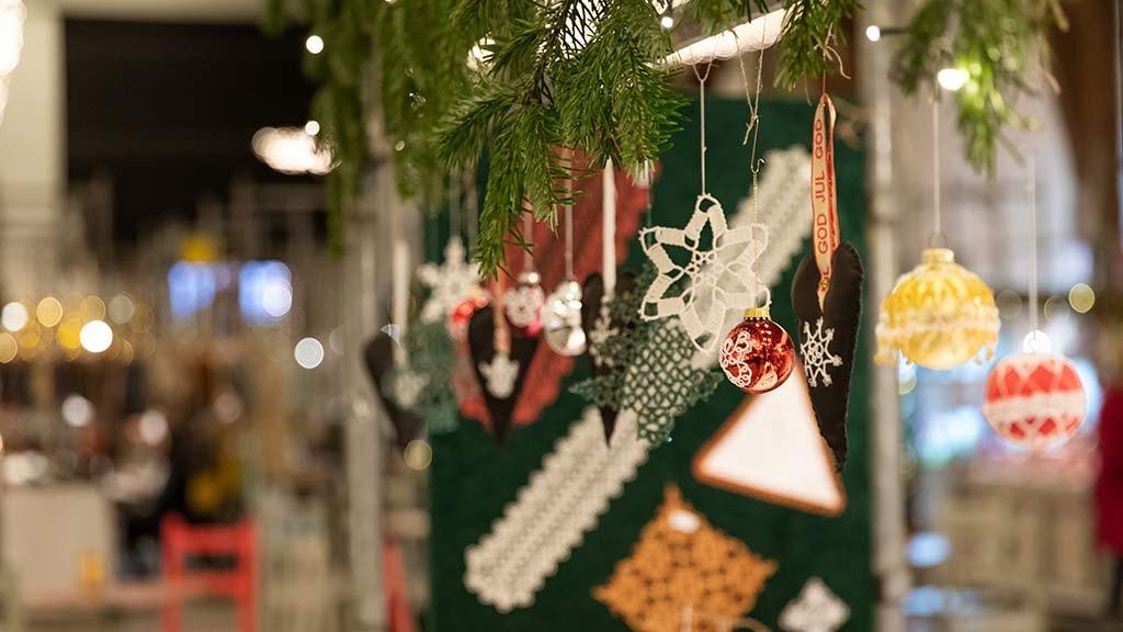Julemarked i ridehuset