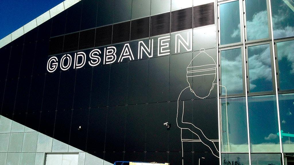 Godsbanen Aarhus Facade