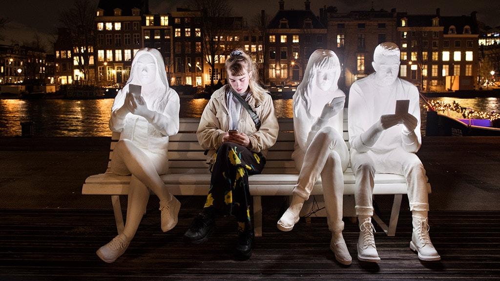 Oplev absorbed by light til lysfest i Aarhus Festuge
