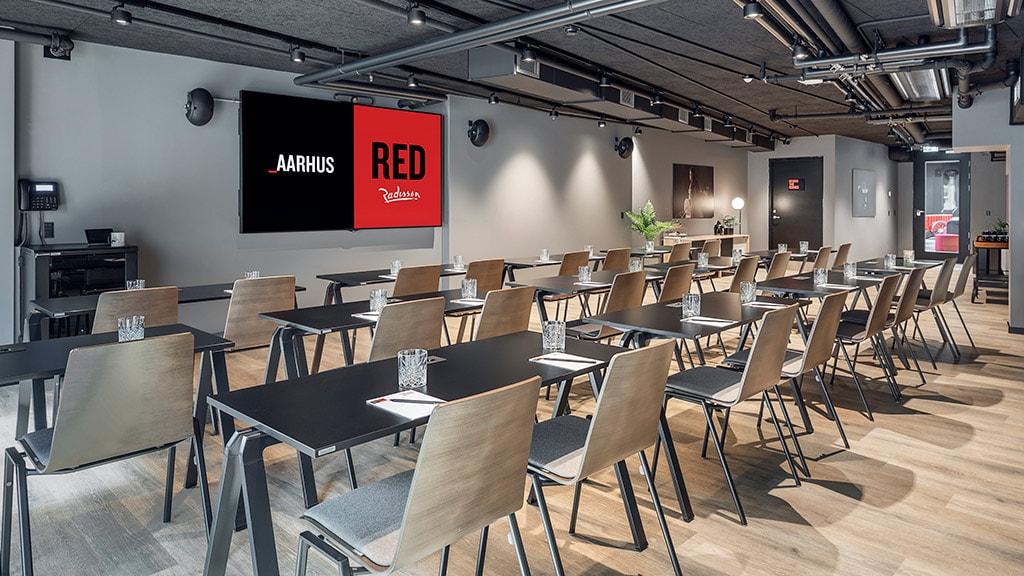 Radisson RED Hotel Aarhus mødelokale