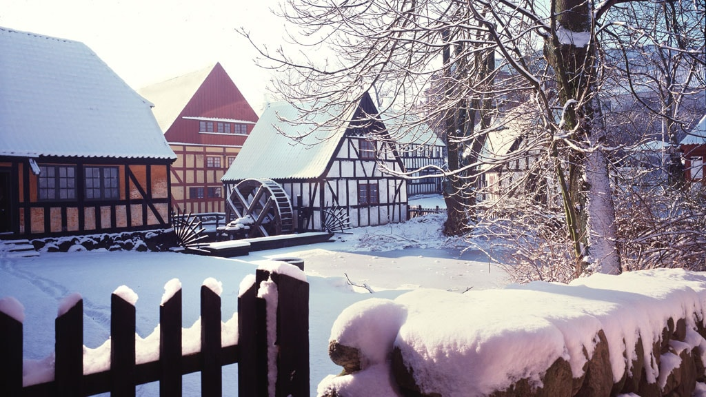Winter settings in The Old Town