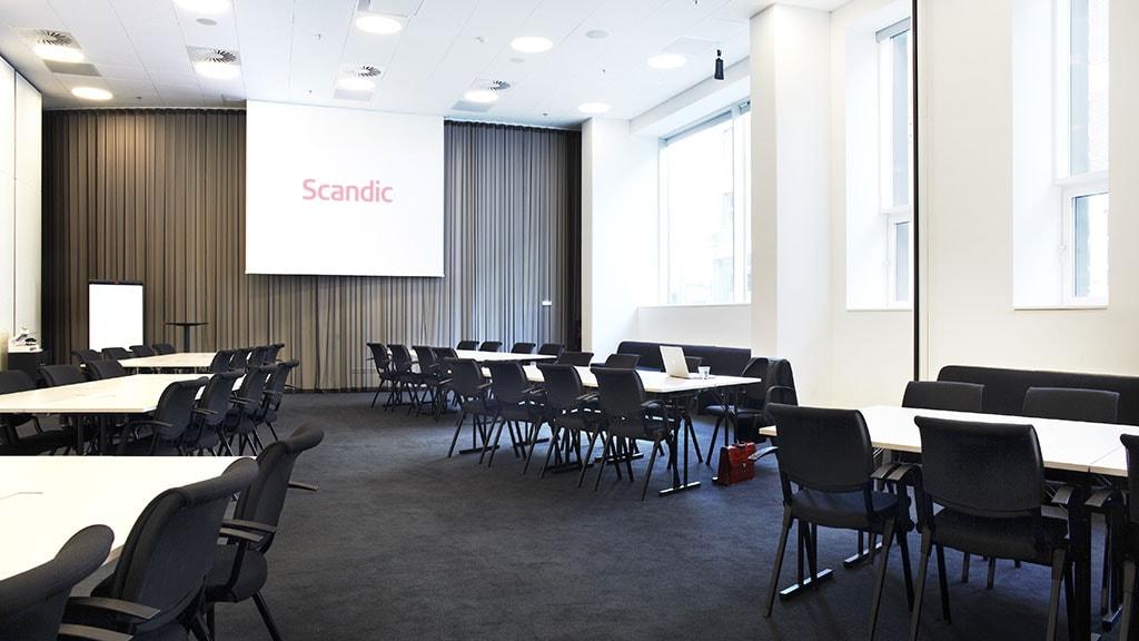 Mødelokale på Scandic Aarhus City