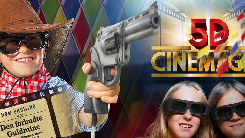 5D Cinemagic i Tivoli Friheden i Aarhus