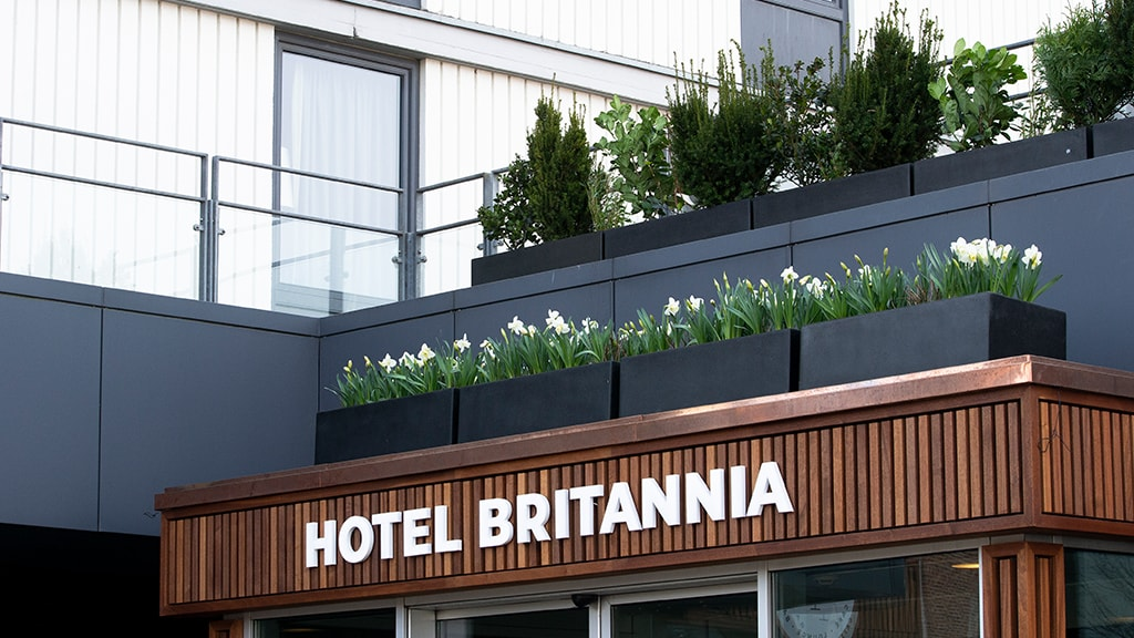 Hotel Britannia Esbjerg entrance