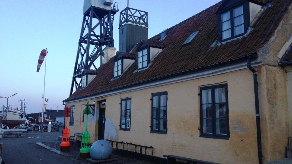 Danmarks Lodsmuseum morgenlys